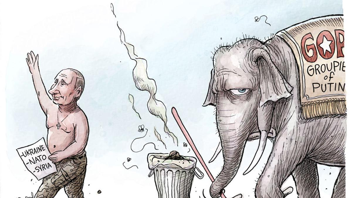 Adam Zyglis Groupie Of Putin Opinion Buffalonews Com