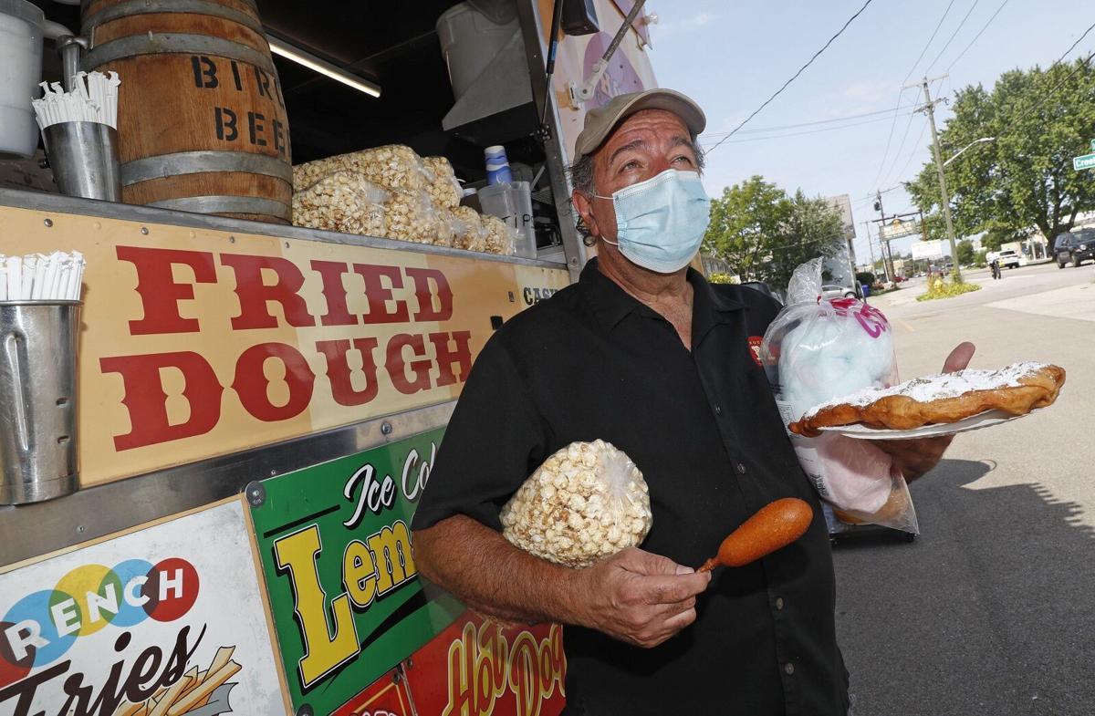 Mike Albarella House of Munch fair foods