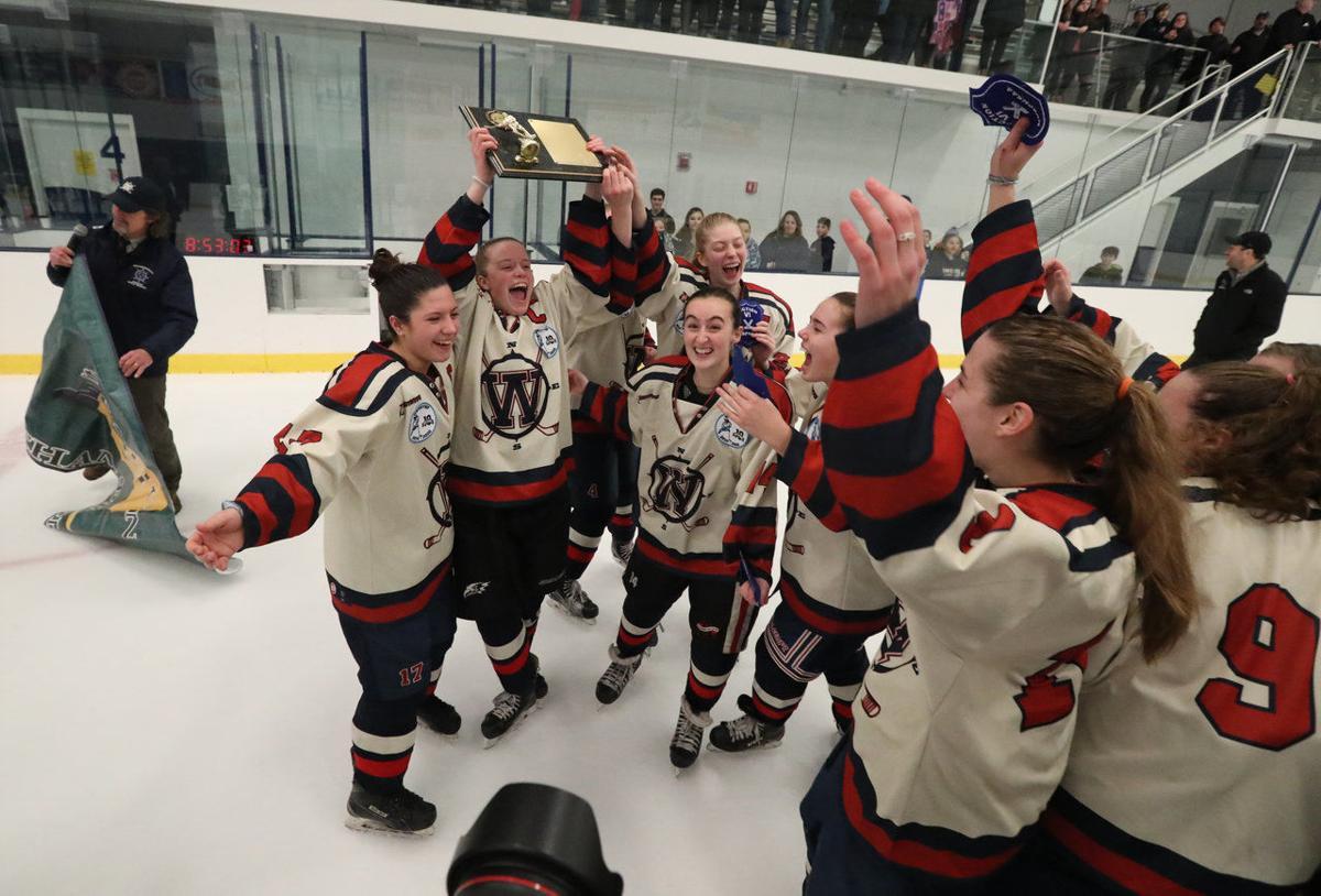 McCoy-Section VI girls hockey championship-Williamsville's Emma Roland -Kenmore/GI-2020