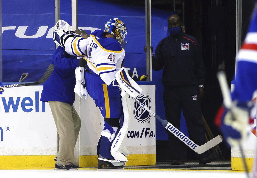 Sabres Rangers Hockey