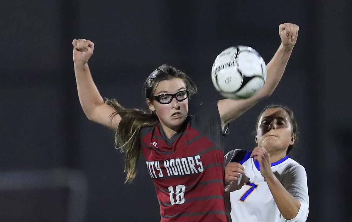 City Honors Natalie Milne soccer