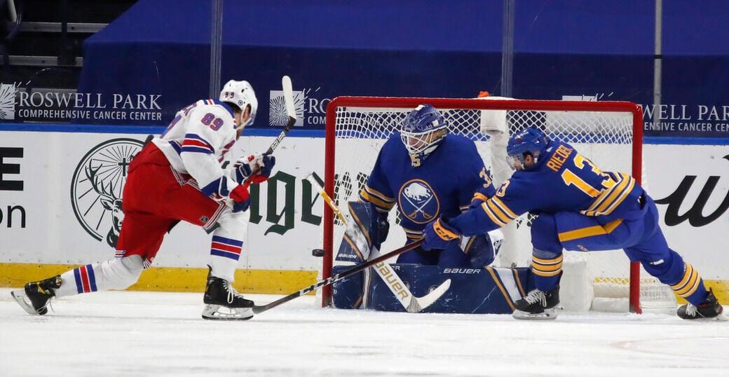 Sabres defeat Rangers 3-2 in shootout
