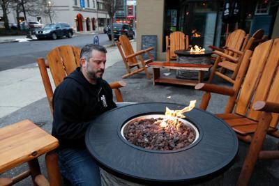 Allen Burger Venture outdoor dining