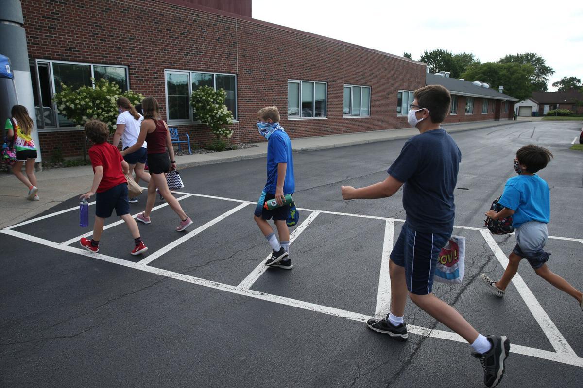Elmwood Franklin School walking