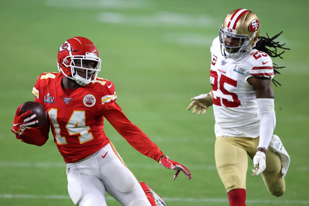 Sammy Watkins Super Bowl LIV - San Francisco 49ers v Kansas City Chiefs