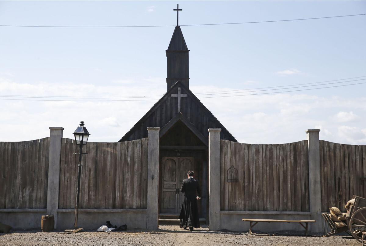 Untitled Cabrini film set (copy) church giampiero judica
