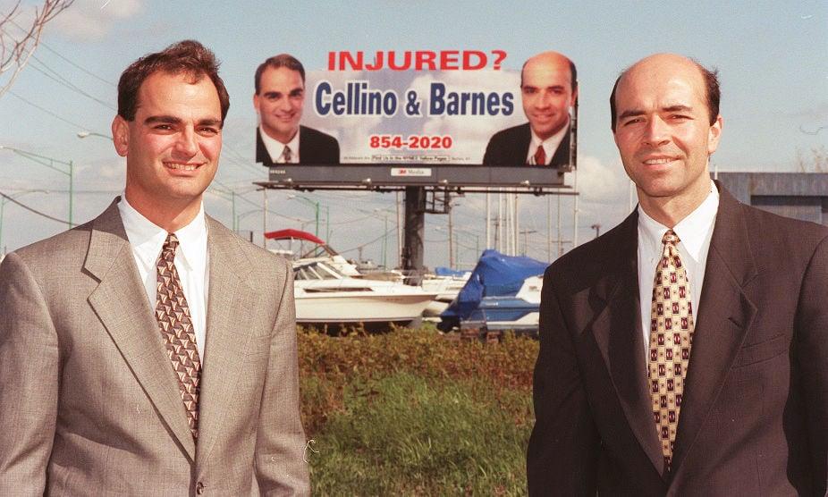 Cellino and Barnes billboard