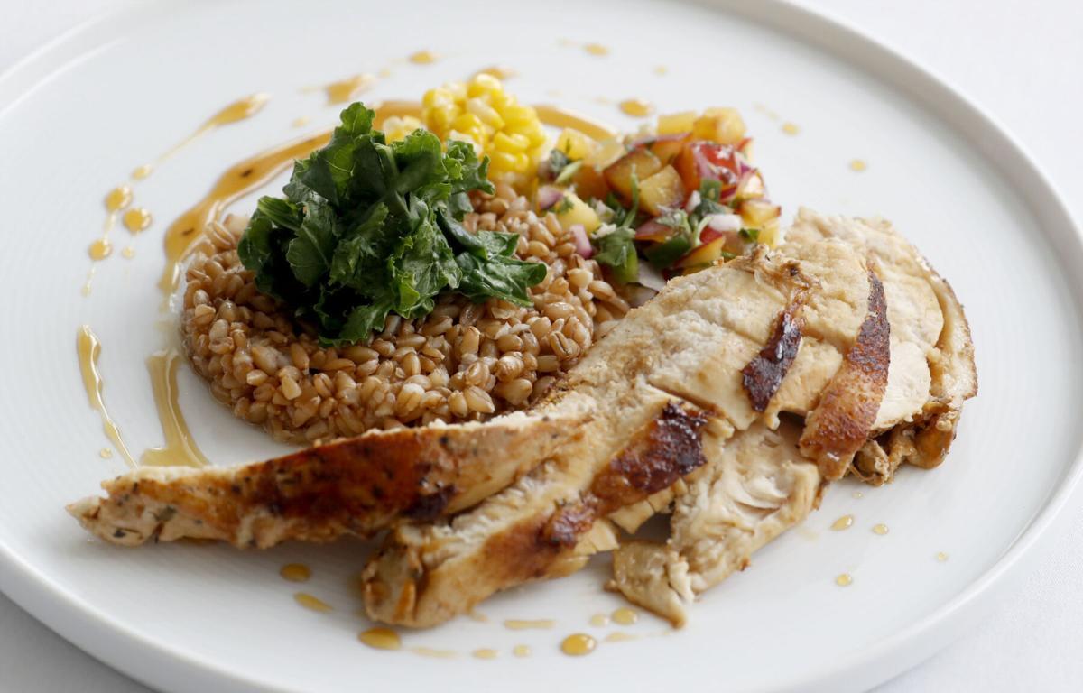 Chicken Medina at Harvest restaurant