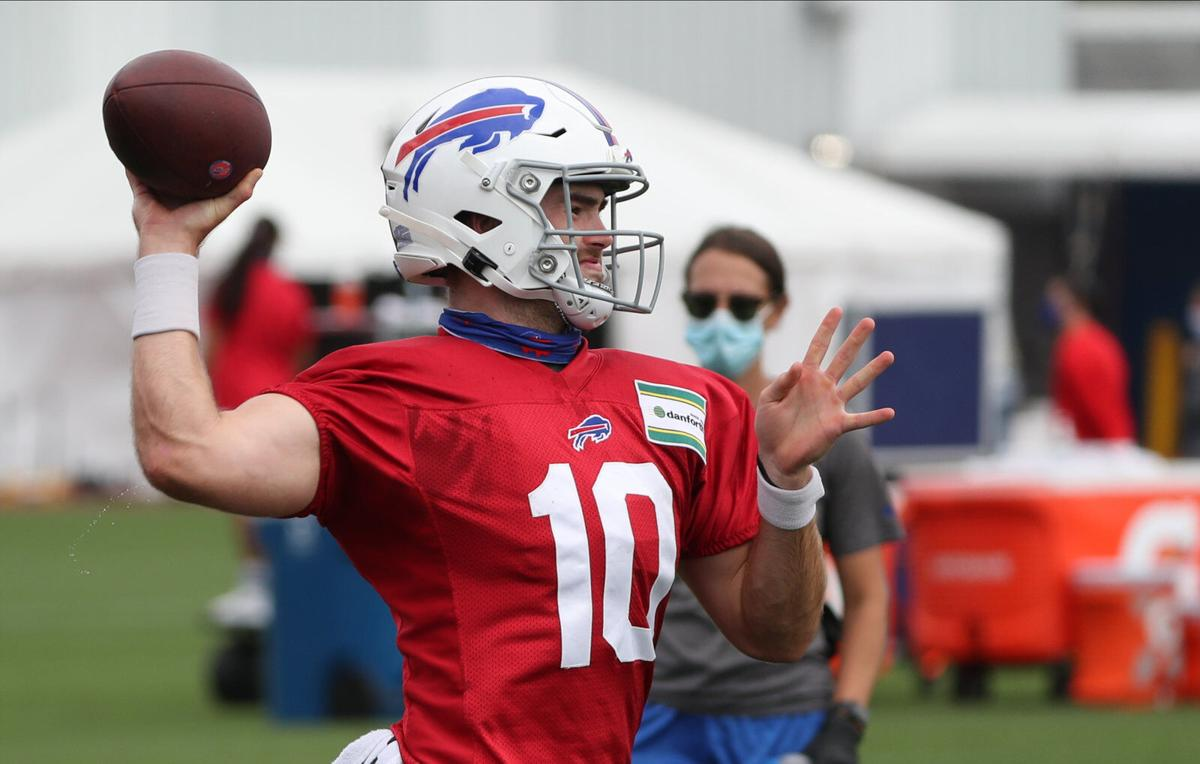 Inside The Bills How Rookie Quarterback Jake Fromm Is Staying Ready In Case Of Emergency Buffalo Bills News Nfl Buffalonews Com
