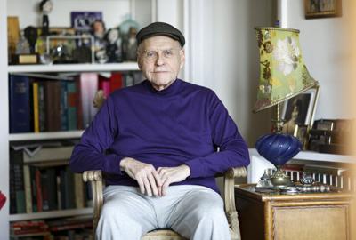 Lawrence Block Portrait Session