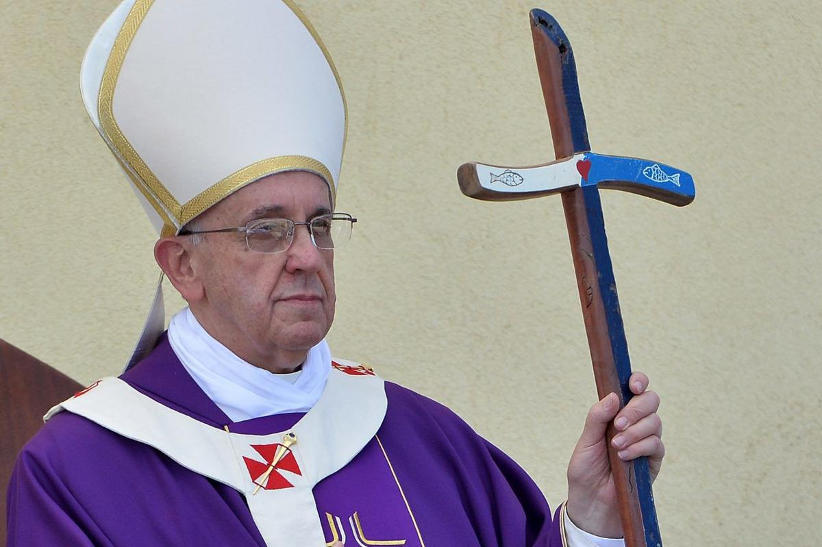 (FILE) Pope Francis Named 2013 Time Magazine Person of the Year Pope Francis Visits The Island of Lampedusa