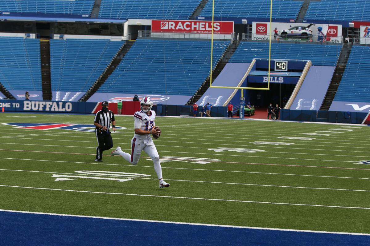 Empty Bills Stadium - Josh Allen