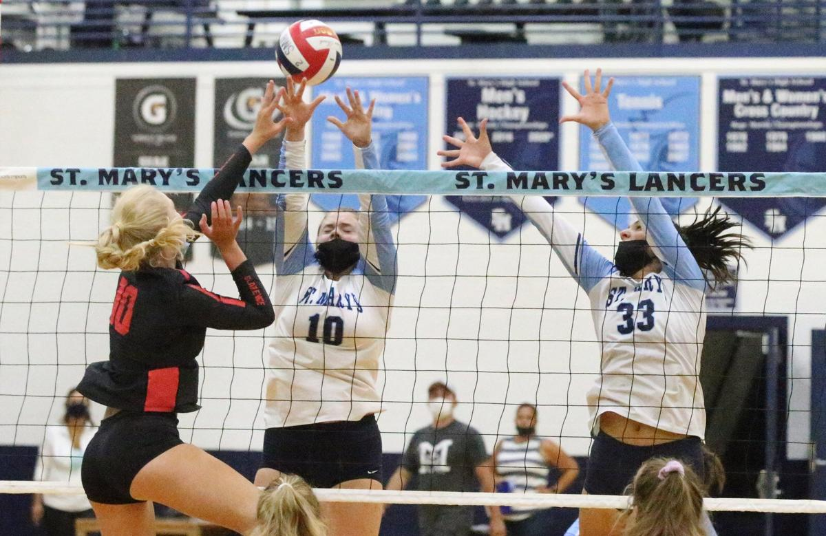 Clarence faces St. Mary's in girls volleyball
