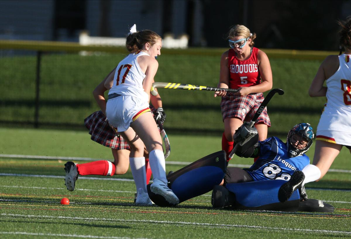 Iroquois takes on Williamsville East in girls field hockey