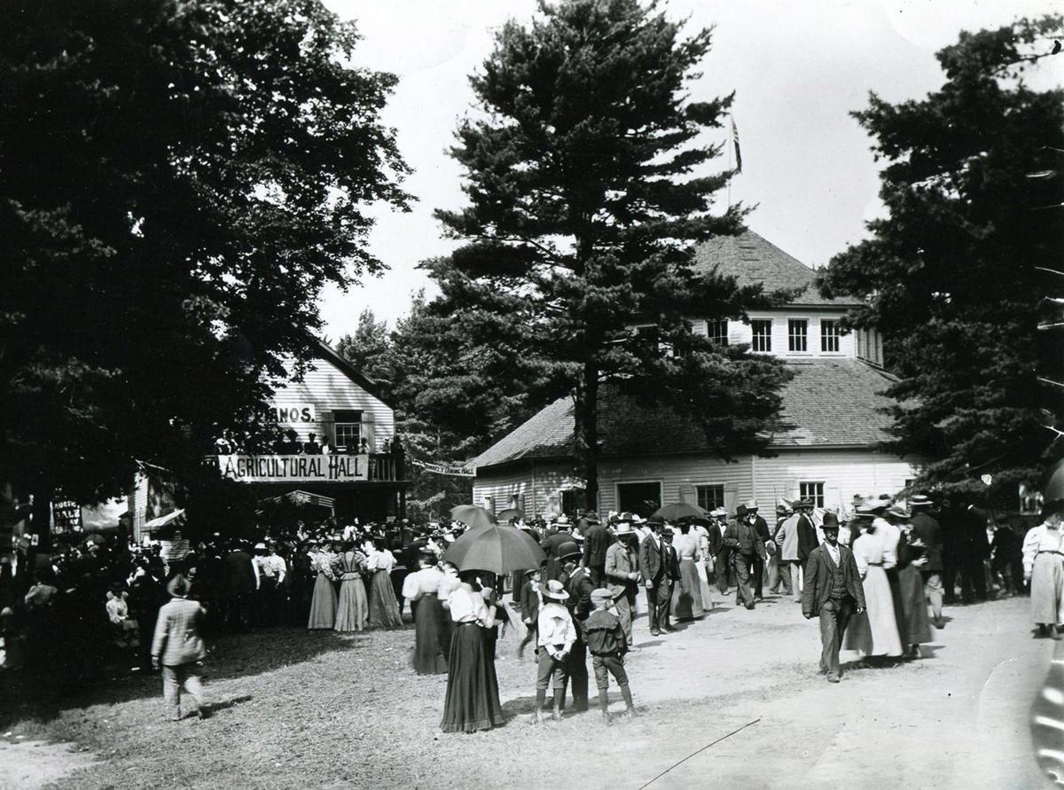 The Erie County Fair: Then and Now