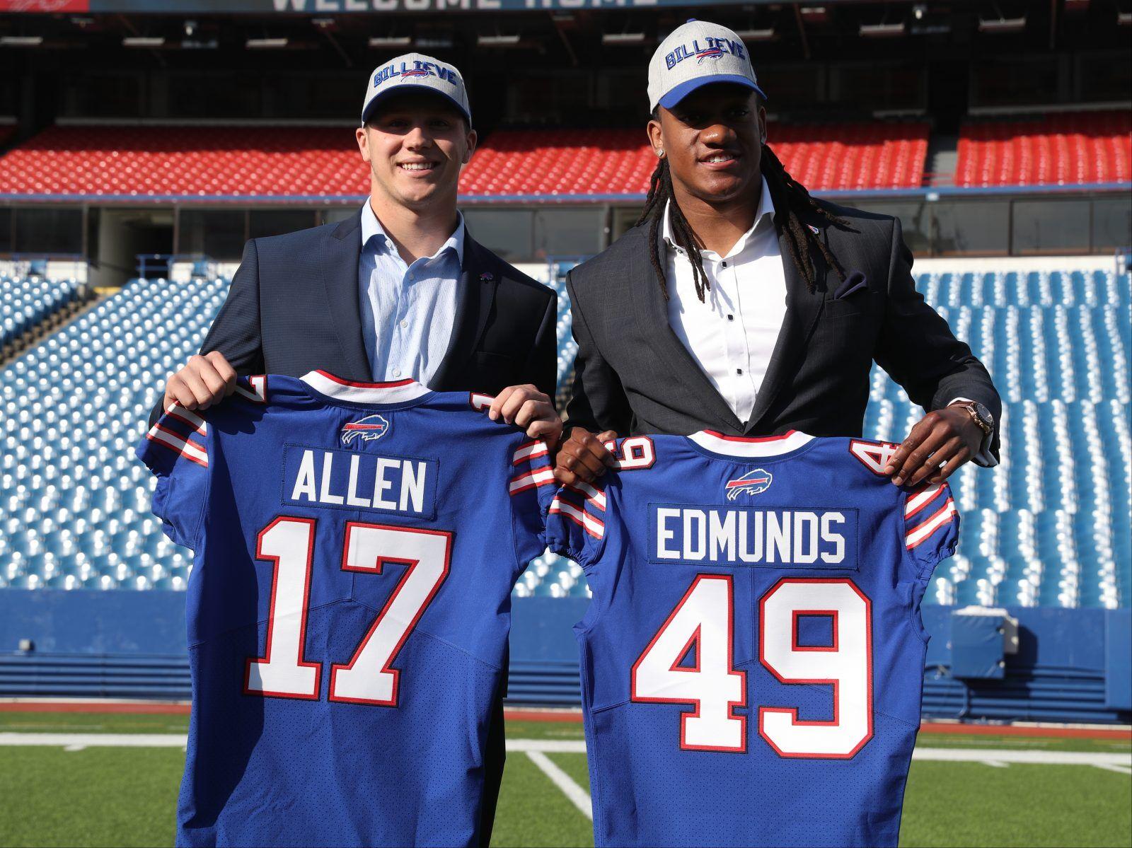 Bills' draft picks get their jersey numbers   Buffalo Bills News ...