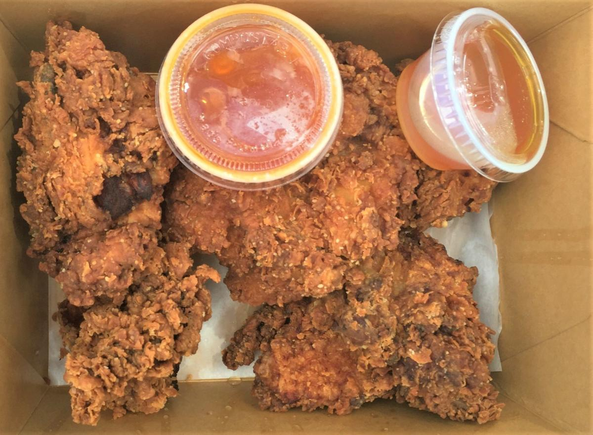 100 acres fried chicken box 2