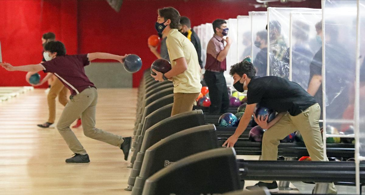 The first High School sports event of the winter is a Monsignor Martin bowling match. (copy)