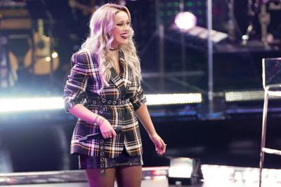 The Voice Cami Clune during knockout round