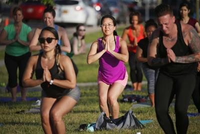 Outdoor group fitness classes return to Canalside, MLK Jr. Park