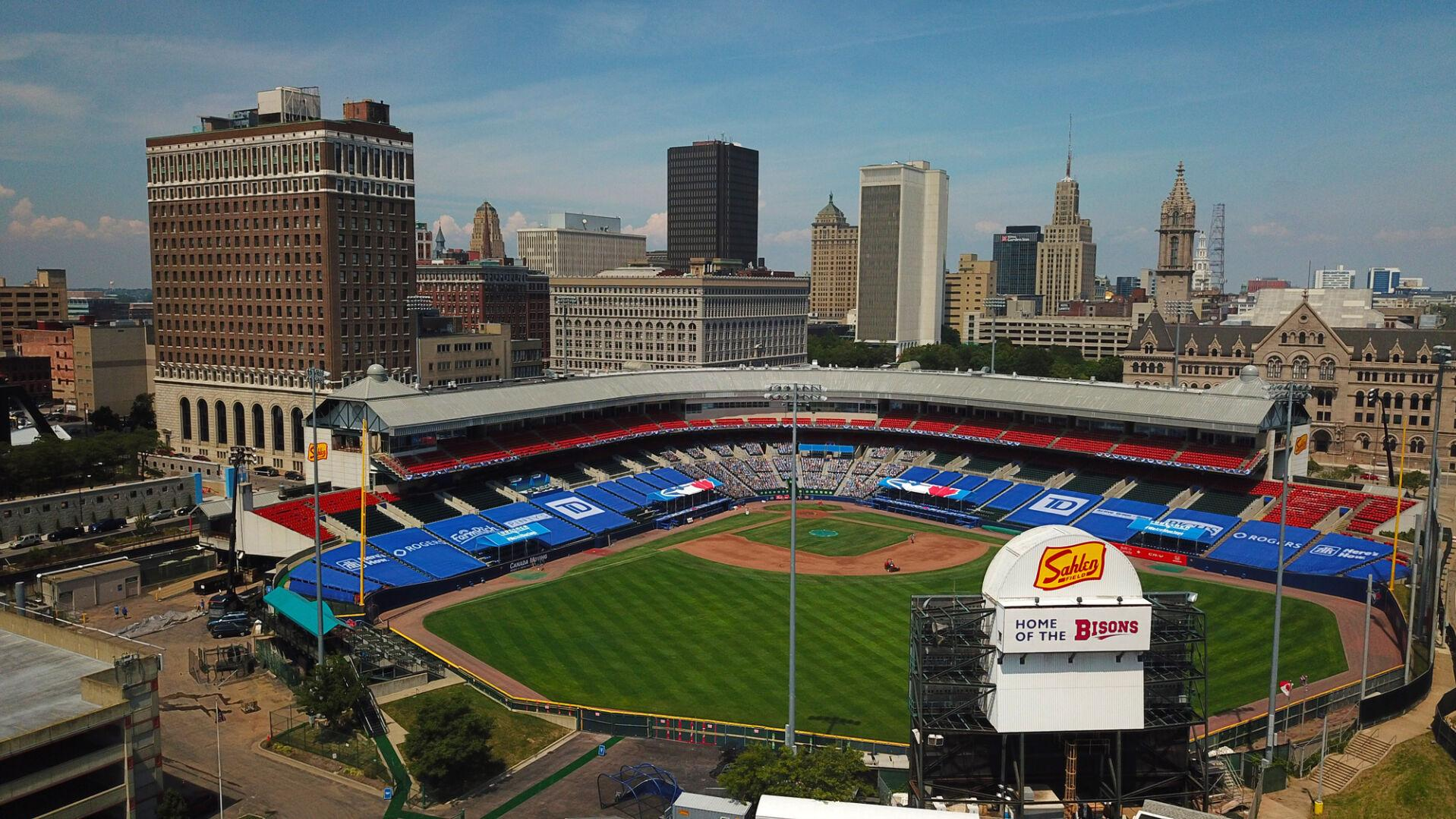 Fs1 Mlb Network Announcers Won T Get To Experience Sahlen Field Television Buffalonews Com