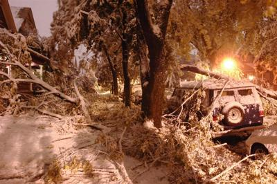Interactive: Take a look back at the 'October Surprise' storm