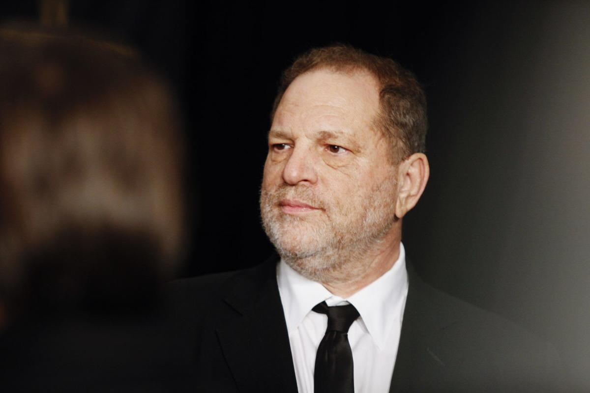 Harvey Weinstein, the Hollywood producer, at a party in Los Angeles.