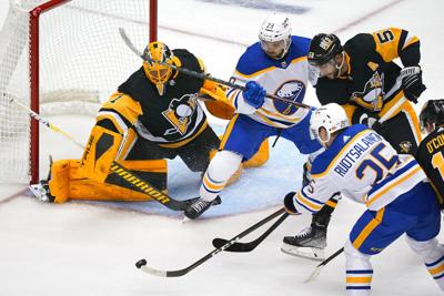 Sabres Penguins Hockey