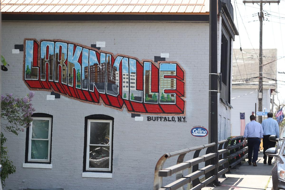 Neighborhood murals around Buffalo