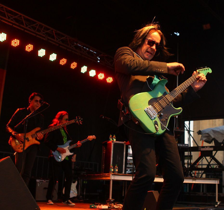 Todd Rundgren at Canalside John Hickey 1