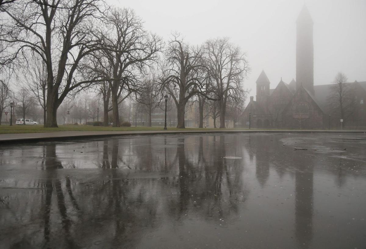 Moist Air Over Cold Lake Brings Fog Rain Local News Buffalonews Com