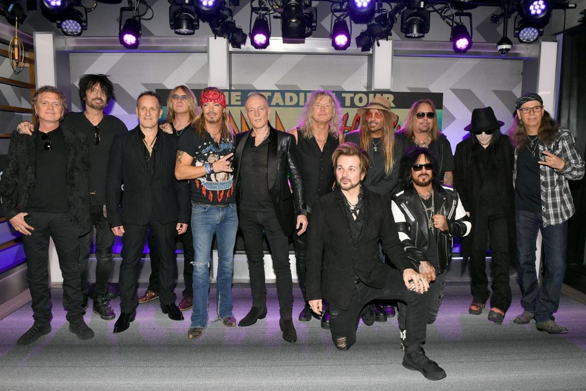 Stadium Tour Press Conference With Mötley Crüe, Def Leppard And Poison Announcing 2020 Stadium Tour