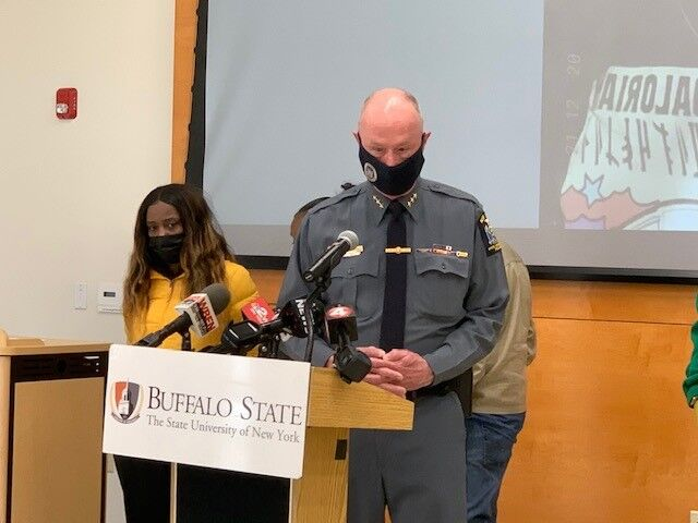News conference with family of missing Buffalo State College student