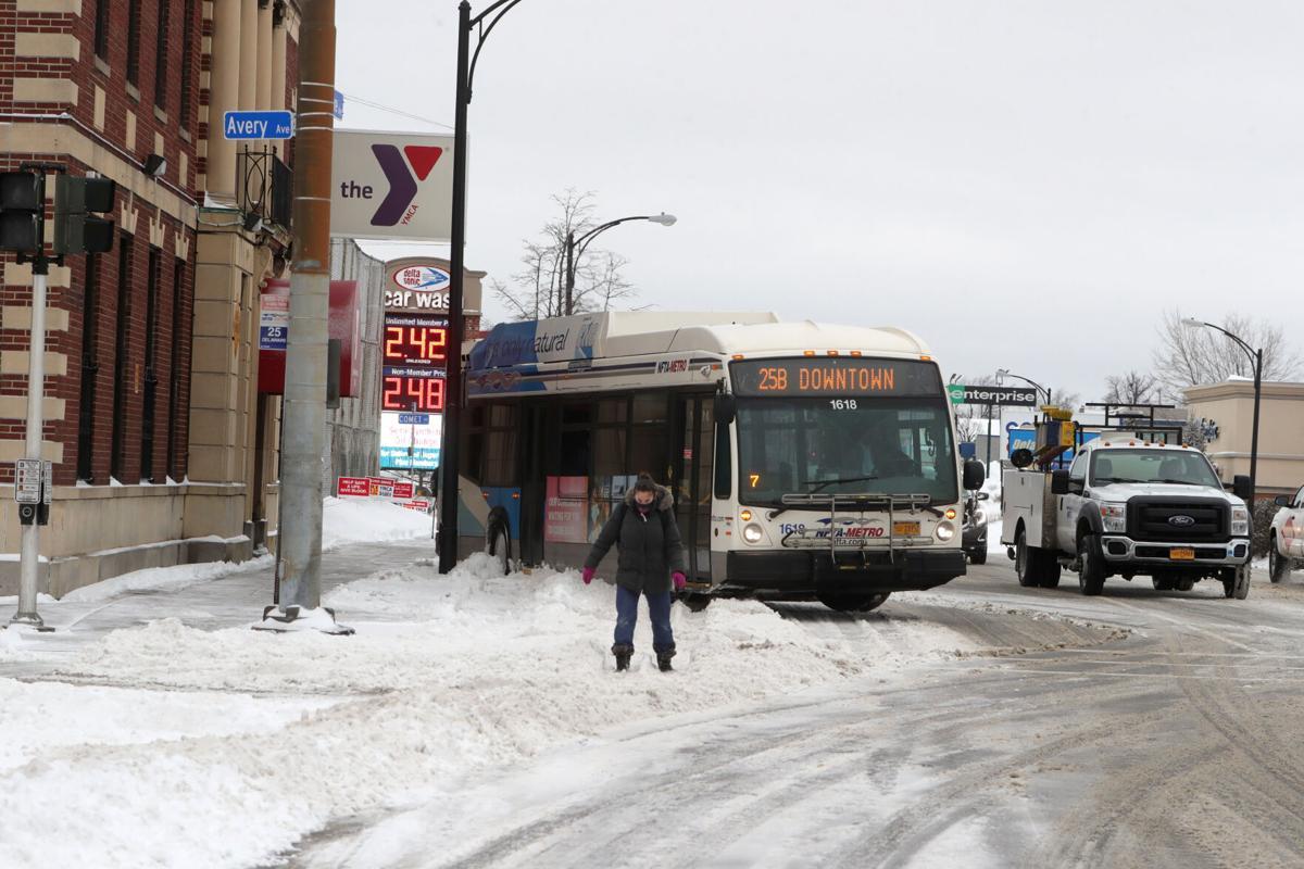 NFTA bus stop