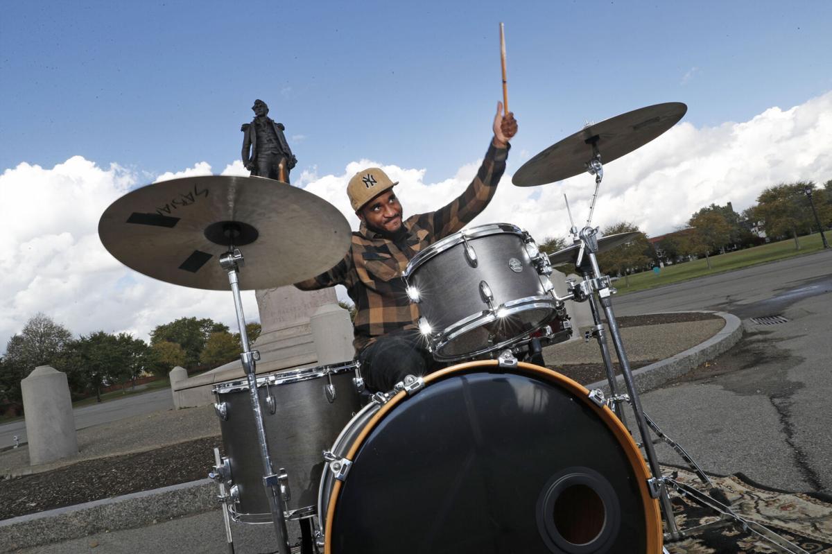 Drummer Damone Jackson