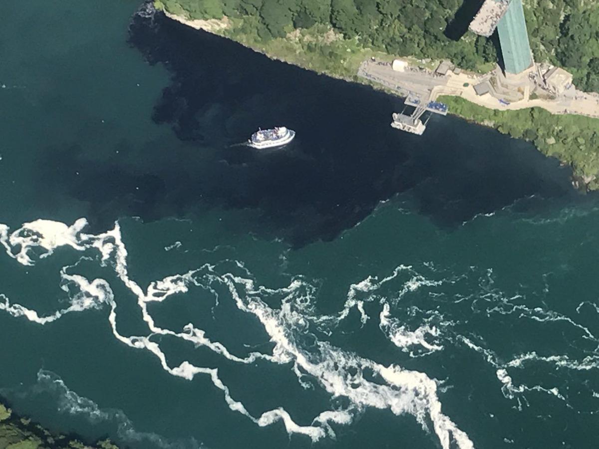 Niagara Falls sewage discharge
