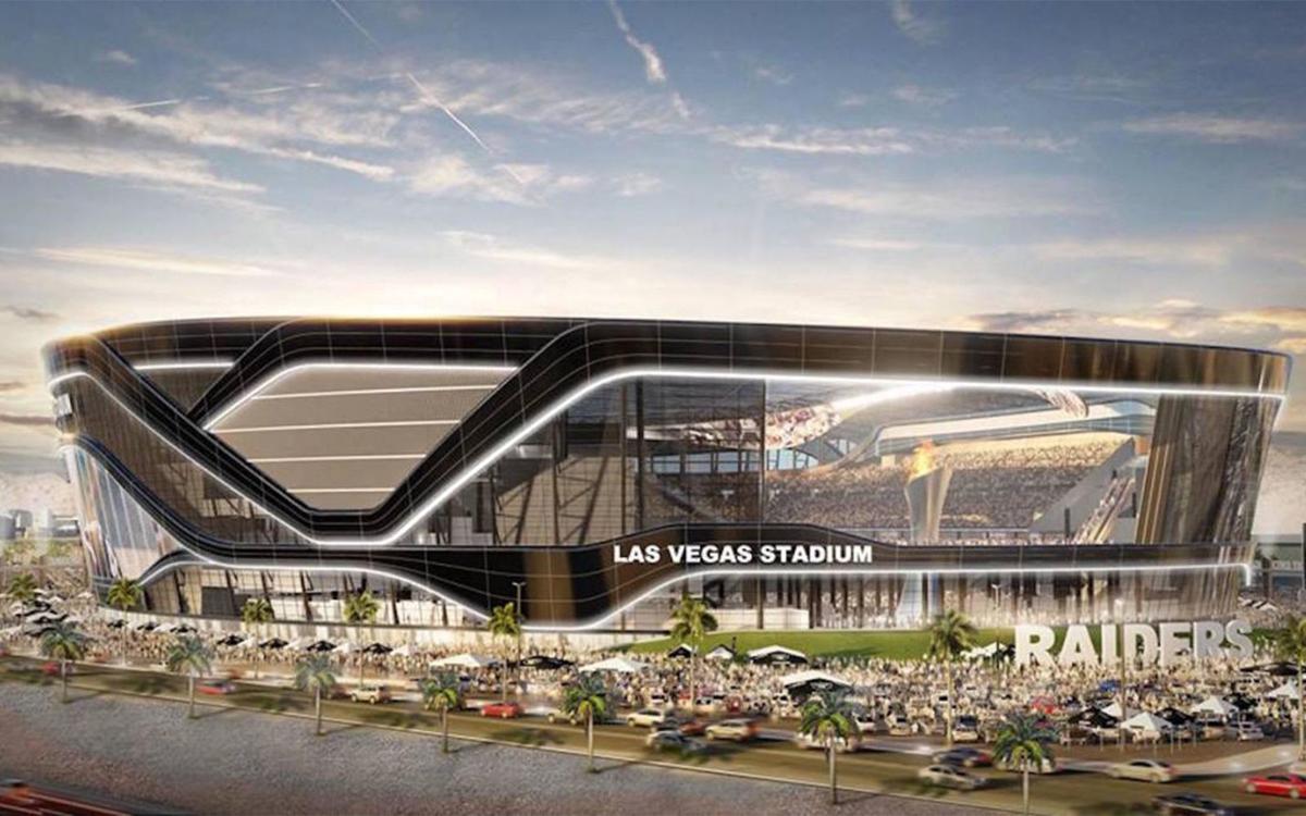 Las Vegas Raiders new stadium rendering