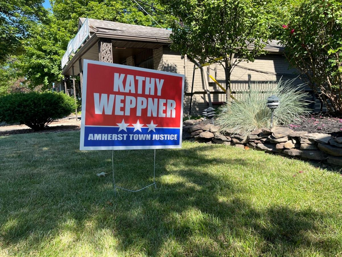 Kathy Weppner Campaign Sign