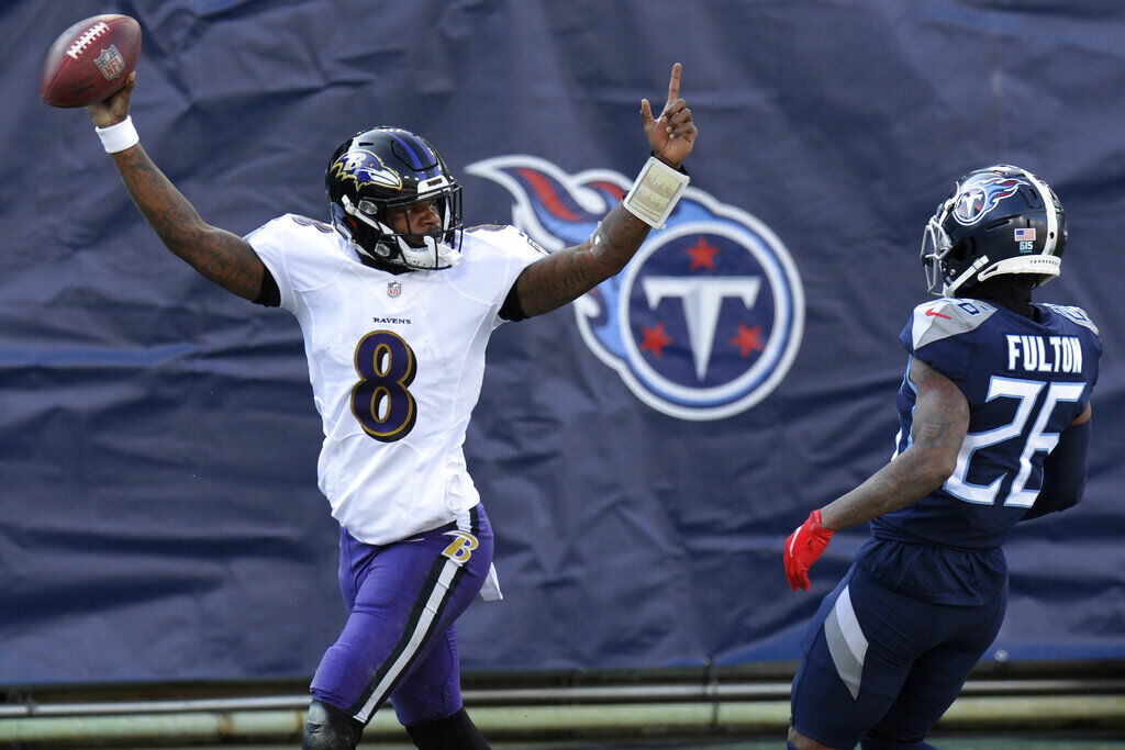 Ravens Titans Football (copy)