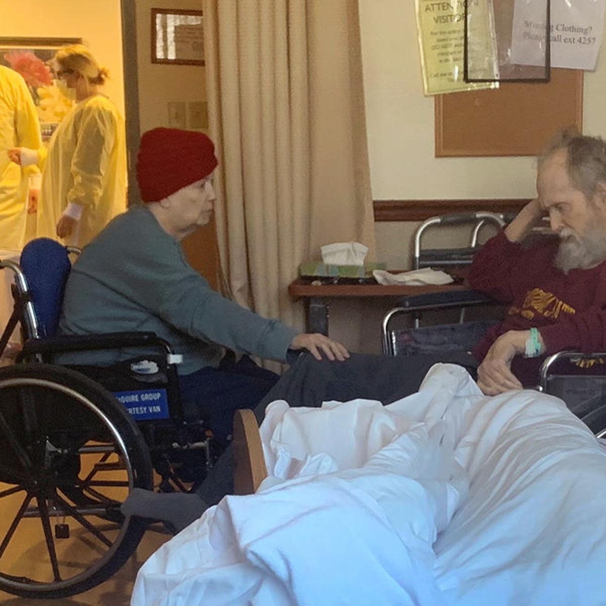 Dying Husband Moved From His Nursing Home To Wife S Spends Last Days Holding Her Hand Obituaries Buffalonews Com