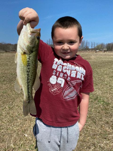 Parker Costello Lockport area pond largemouth bass