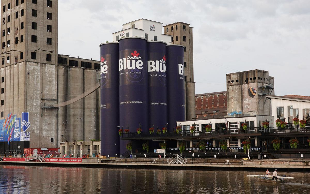 The beer cans at RiverWorks