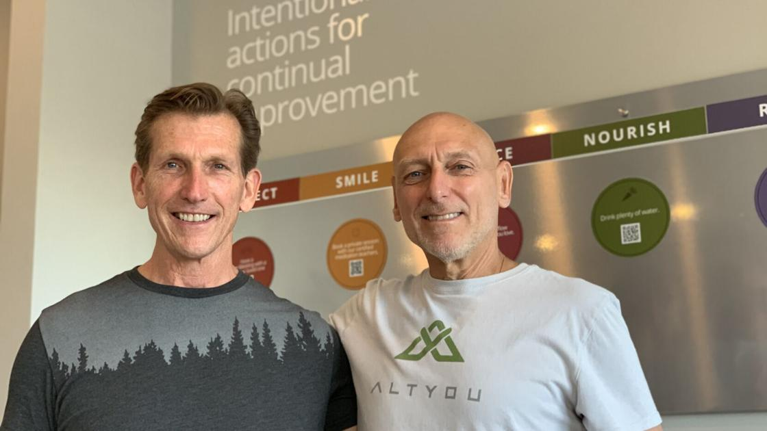 Heath challenges brought two longtime gym owners together in a new fitness model
