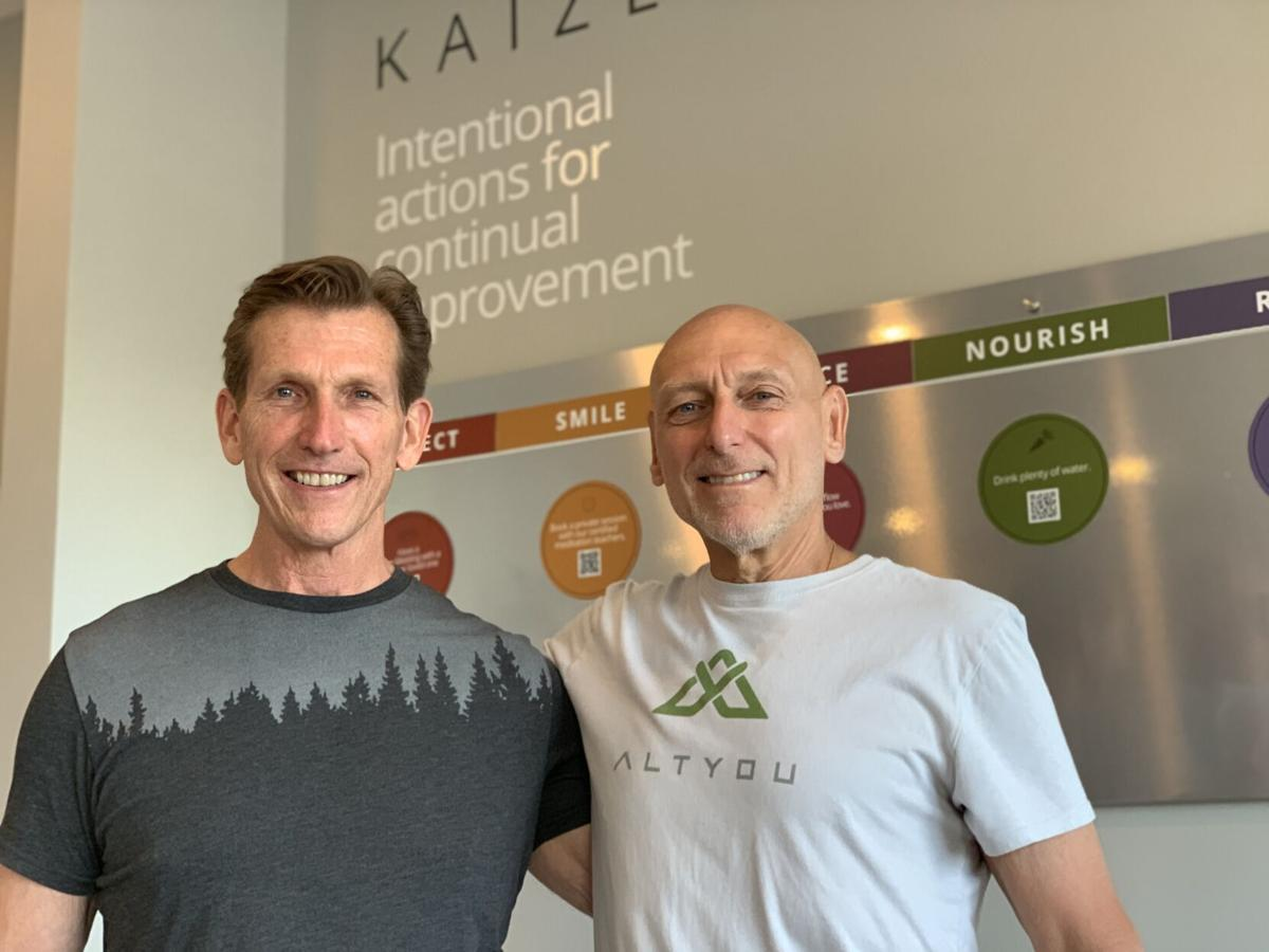 Bob Gosch and Rick Leugemors, owners of AltYou