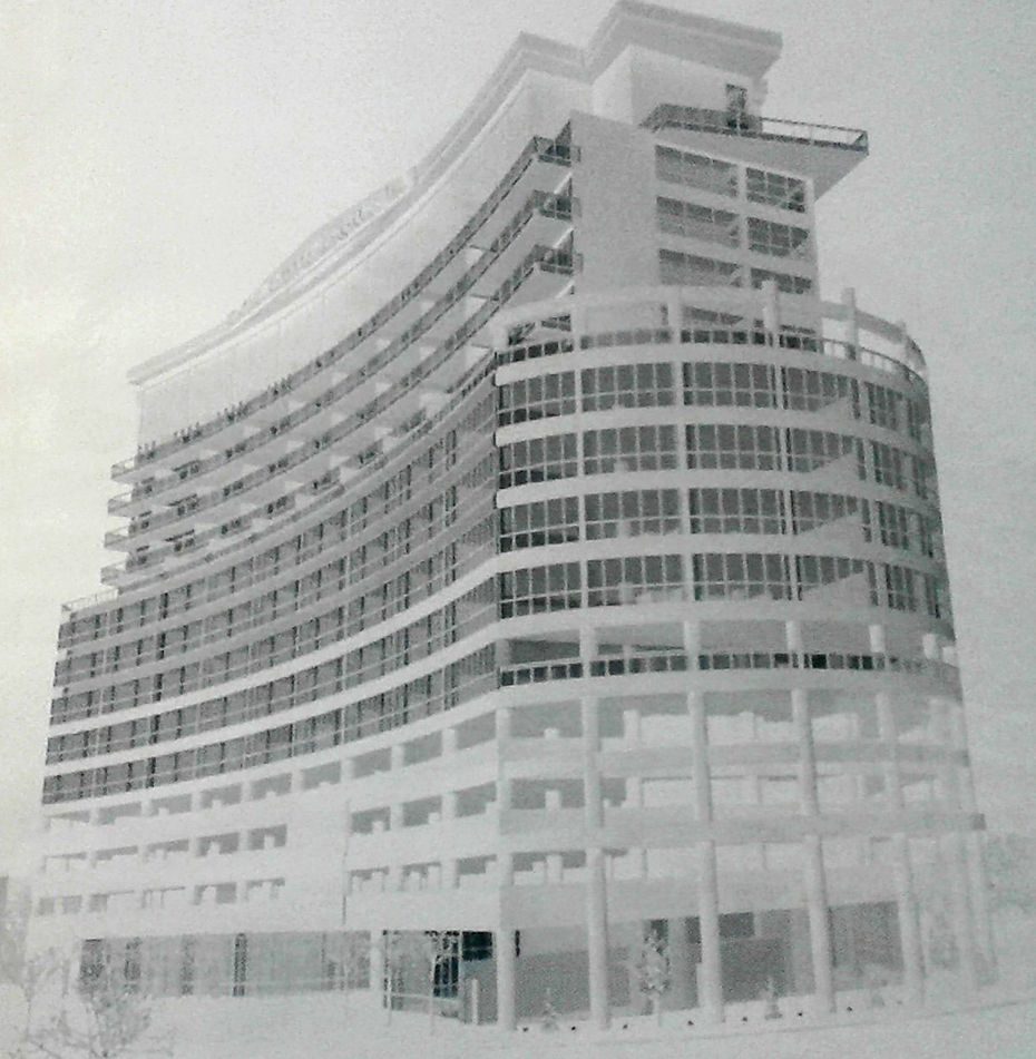 Niagara Falls hotel rendering