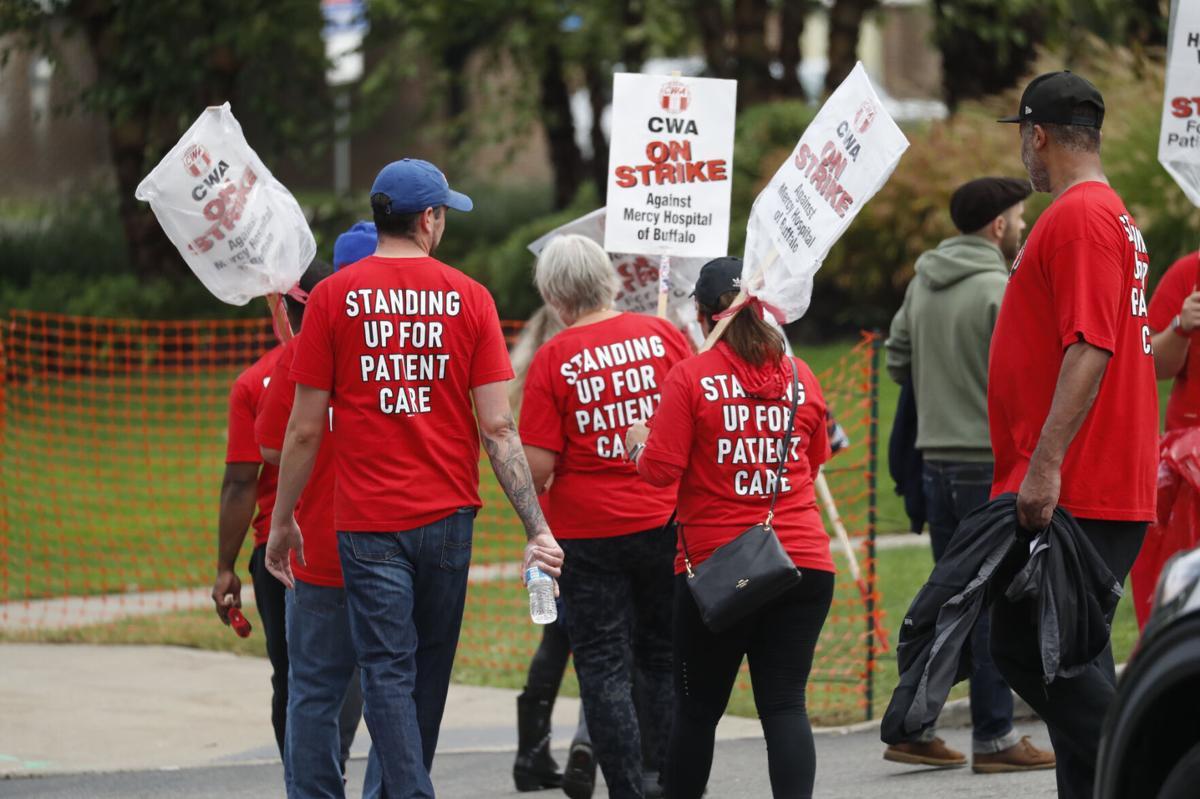 Catholic Hospitals strike