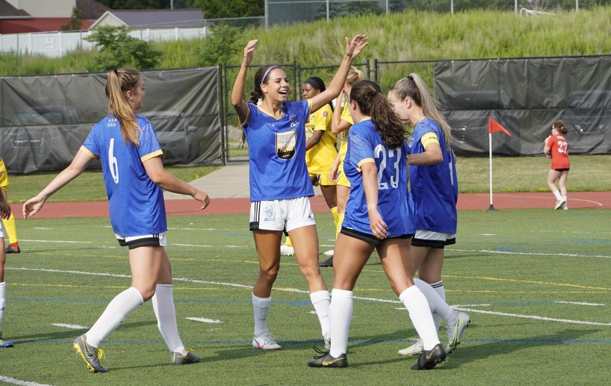 FC Buffalo Women Kelsey Araujo
