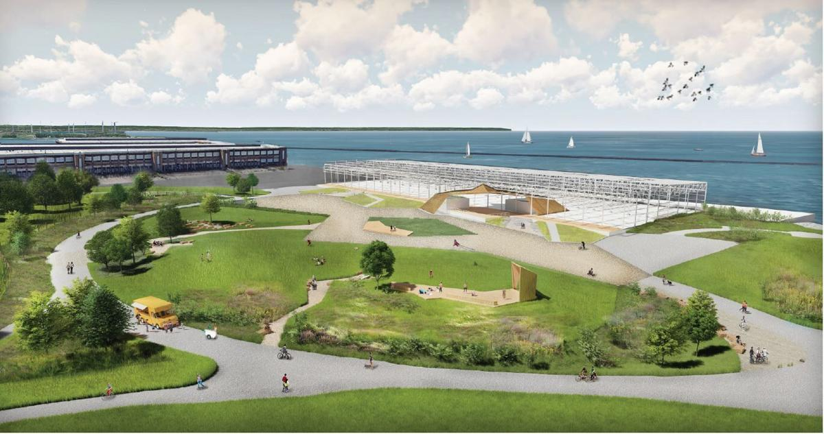 Outer Harbor amphitheater rendering