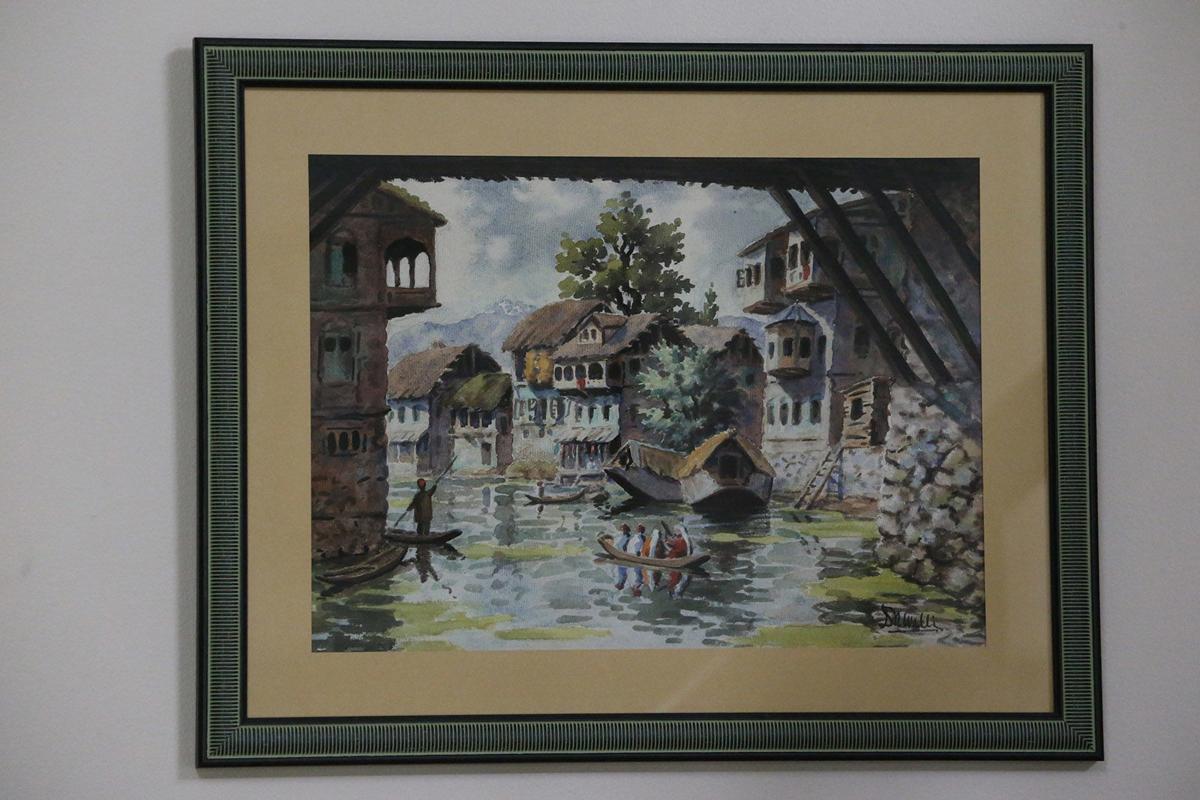 Financial Kashmir Art