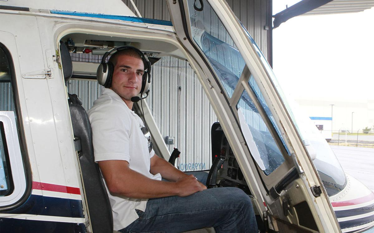 Helicopter Pilot Michael Campbell